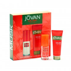 JOVAN MUSK LADIES- 1 OZ SP/ 2.5 OZ BLTN