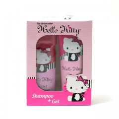 GIRLS HELLO KITTY SET- 7.3 SHAMPOO/6.7 SG