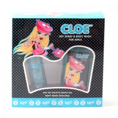 GIRLS BRATZ CLOE SET-  1.7OZ ET SP/8OZ BW