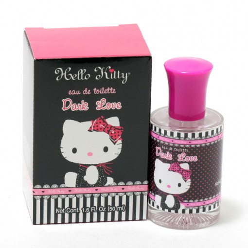 GIRLS HELLO KITTY DARK LOVE- EDT SPRAY