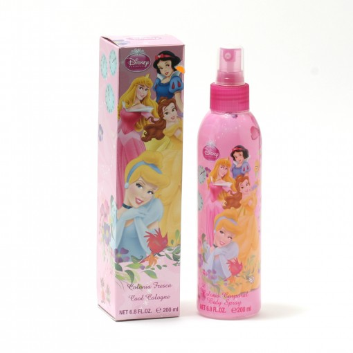 GIRLS DISNEY PRINCESS- BODY FRESH SPRAY (BOXED)