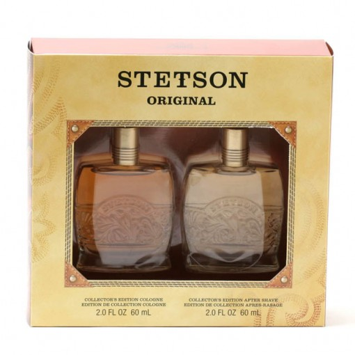 STETSON MEN- 2 OZ COL/ 2 OZ DECANTER AS