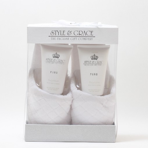 PURO PURE BLISS SLIPPER SET 5.07 BW/5.07 BL/SLIPPERS