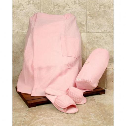 Pretty In Pink Spa Set - Spa Wrap