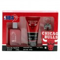Nba Bulls 3.4 Oz Sp/5.1 Oz Sg/key Ring